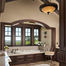 Traditional Bathroom by Buffington Homes South Carolina