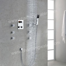 Contemporary Bathroom Faucets by Mujia sanitary ware factory
