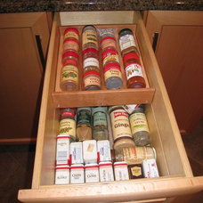 Modern Cabinet And Drawer Organizers by AD Construction and Remodeling, LLC