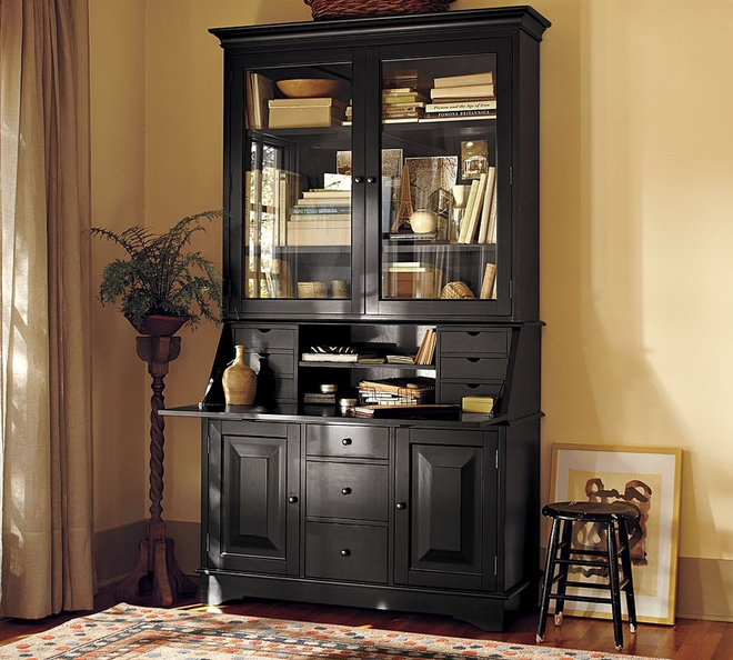 Traditional Buffets And Sideboards desk with hutch