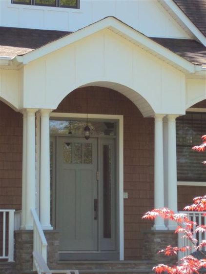 Modern Front Doors by CM Windows & Doors