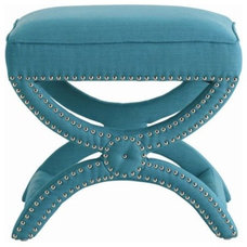 Contemporary Upholstered Benches by Clayton Gray Home