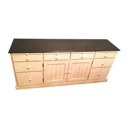 SOLD OUT! Solid Chic Cream Credenza - $1,600 Est. Retail - $750 on Chairish.com -