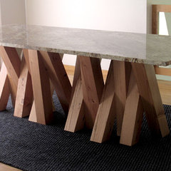 contemporary dining tables by Lucero Studio