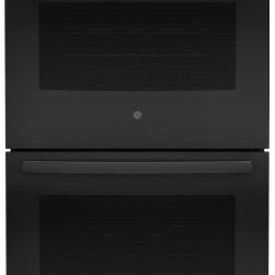"GE - JT3500DFBB 30"" Built-In Electric Double Wall Oven With Self-Clean Heavy-Duty Ove - The GE 30 in Electric Double Wall Oven provides a full 50 cu ft capacity per oven for ample cooking space Closed-door broiling with 8 pass Broil element in both ovens allows for safe cooking without overheating the kitchen The Warm mode in each oven ..."