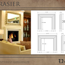 Eclectic Fireplaces by Distinctive Mantel Designs, Inc