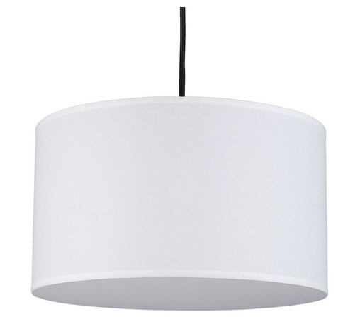 Lights Up - Meridian Round Medium Pendant Light in Brushed Nickel Finish (Black SilK Glow) - Fabric: Black SilK Glow. Bulb not included. Requires one 100 watt bulbs. UL listed. Wired for permanent mounting. Voltage: 120 Volts. 14 in. Dia. x 8 in. H