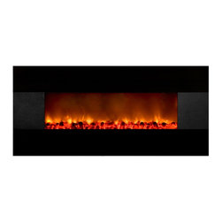 Yosemite Home Decor - Yosemite Home Decor DF-EFP700 State-of-the-Art Electric Heater - Sleek BlackYose - Yosemite Home Decor's DF-EFP700 is a modern piece that combines visual and aural ambiance to add beauty to a room. The sleek black finish of the fireplace's exterior and the dimmer-controlled flames contribute to the visual ambiance of a room. The side speakers and the USB/MP3 connections allow for aural ambiance to be incorporated without any hassle. Furthermore, the DF-EFP700 is a fireplace that combines beauty with functionality. This fireplace can actually serve as an electric heater. This can be used for zone heating to reduce electric and gas costs. Looking at everything the DF-EFP700 has to offer, you should wonder why you are still having second thoughts about purchasing it.