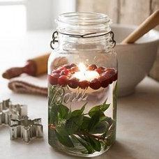 Holidays / Floating #Christmas #Candle Ideas