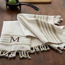 traditional dishtowels by Pottery Barn