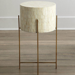 "Regina-Andrew Design ""Mesita"" Drum Table"
