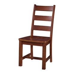 Lea Elite Covington Chair in Warm Cherry