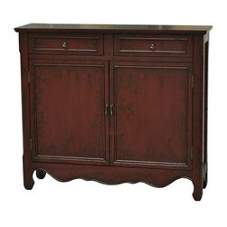 Brickyard 2 Door 2 Drawer Cupboard - Brickyard 2 Door 2 Drawer Cupboard 41 x 11 x 36