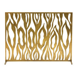 Arteriors - Arteriors 4200 Gina Screen - Arteriors 4200 Gina Screen made with Antique Brass.