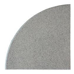 Sand Granite Corner Shelf - Size: 9''x9''