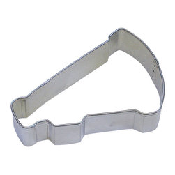 RM - Megaphone 3 In.  B1394X - Megaphone cookie cutter, made of sturdy tin, Size 3 in., Depth 7/8 in., Color silver