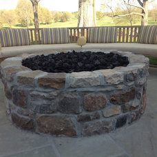 Transitional Firepits by Innovative Fire & Light