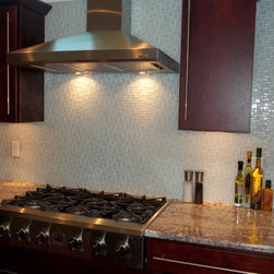 Kitchen Backsplashes - Unity Glass Tiles