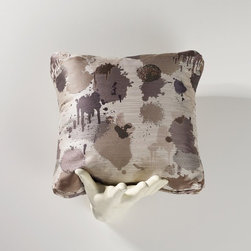 Homeware - Homeware Paint Splatter Accent Throw Pillow Set - Set of 2 - HWP011-18-112PEW - Shop for Pillows from Hayneedle.com! Homeware Paint Splatter Accent Throw Pillow Set - Set of 2's glimmering paint splatter motif adorns a room with panache and quiet opulence. They bring liveliness to contemporary furniture pieces that risk seeming too droll and they make a fresh transitional piece when introduced to a room of antiques. Available in your choice of size and color.