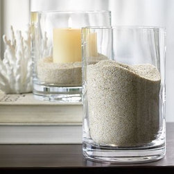 Sand Vase Filler, Natural - Create an eclectic display with our Sand Vase Filler. 4 pounds. Display in any of our vases or bowls and mix with other decorative vase fillers for a creative look.