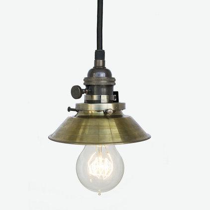 Industrial Pendant Lighting by Hammers & Heels