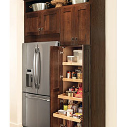 "93"" Pantry - Base pantry tall cabinet provides easy access for storing seasonings, bottled ..."