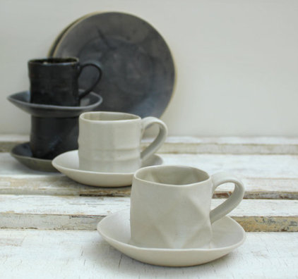 contemporary glassware by Etsy