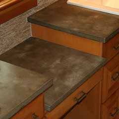 modern bathroom countertops by Agrestal Designs