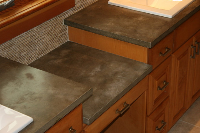 Countertop Materials Recycled : Modern Vanity Tops And Side Splashes by Agrestal Designs