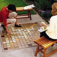 outdoor Scrabble | Random Lovely