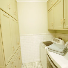 Traditional Laundry Room by Amy Koch Interiors