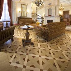 Eclectic Hardwood Flooring by Koydol Inc.