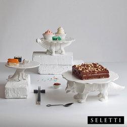 Seletti Sauria Cake Stand - Seletti Sauria Cake Stand