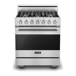 """Viking 3 Series 30"""" Dual Fuel Range, Stainless Liquid Propane 