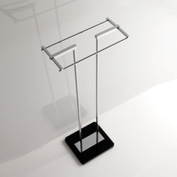 Nameeks - Nameeks | Grip Towel Stand - Made in Italy. A part of Toscanaluce by Nameek's.The Grip Towel Stand is the perfect addition to your bathroom. Made of high-quality plexiglass, this floor-standing dual-sided bar offers superior strength while allowing you to place it anywhere in your bathroom. This towel stand comes in a wide range of colors. Product Features: