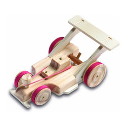 Red Tool Box Racing Car - I may have my daughter give this to my husband for Christmas — then they can have fun building it together.