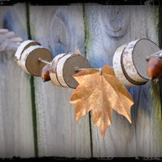 decorating with Fall leaves