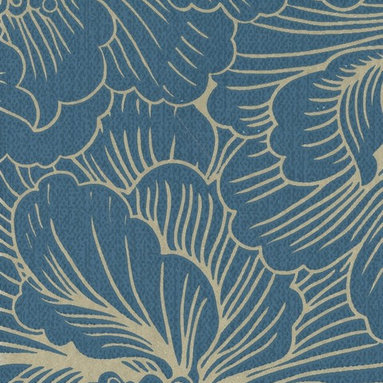 Poise Super Fresco Easy Wallpaper - These bold blooms will make your walls a sparkling bouquet.