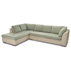 Modern Sectional Sofas by americanleather.com