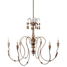 Mediterranean Chandeliers by Aidan Gray Home