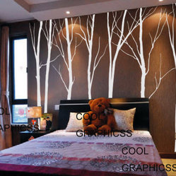 Trees Vinyl Wall Decal by Cool Graphicss