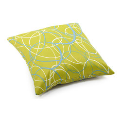 ZUO VIVA - Bunny Large Pillow Olive Green base with pattern - Bunny Large Pillow Olive Green base with pattern