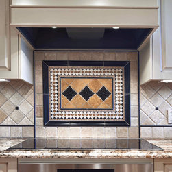 Kitchen backsplash mosaic and metal accent mural - Looking to transform your kitchen. Our collection of mosaic and metal accent mural will be the new focal point of your kitchen. Visit our website for more info. Do not hesitate to contact us with your question or help to design your new mural.