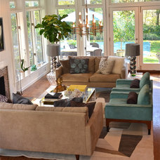 Midcentury Living Room by d2 interieurs