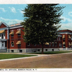 Stomping Grounds - The Goulds Mfg. Co. Offices, Seneca Falls, N. Y. - This image of a prominent Seneca Falls business dates from the 1920s.