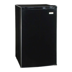 MAGIC CHEF - MAGIC CHEF MCBR360B 3.6 Cubic-ft Refrigerator (Black) - � 3.6 cu ft capacity;� Manual defrost;� Can dispenser;� Adjustable leveling legs;� Full-range temperature control;� Extra door storage;� Flush back;� Full-width freezer compartment;� Black