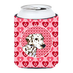Caroline's Treasures - Dalmatian Can or Bottle Hugger - Can Cooler - this collapsible koozie fits 12 ounce beverage. Cans or bottles. Permanently dyed and fade resistant. Will not crack or peel. Great to show off your breed. Match with one of the insulated coolers for a nice gift pack.
