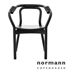 Normann Copenhagen Knot Chair Black/Black - Normann Copenhagen Knot Chair Black/Black