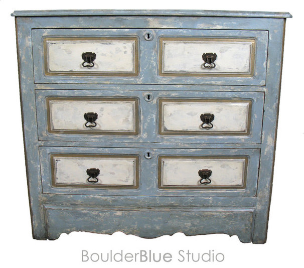 Eclectic Accent Chests And Cabinets by Boulder Blue Studio