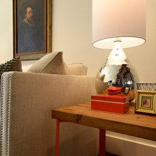 Traditional Living Room by Saavedra Design Studio